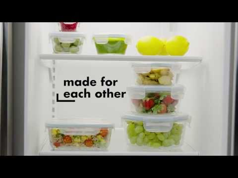 OXO Good Grips 30 Piece Smart Seal Glass & Plastic Container Set 5702
