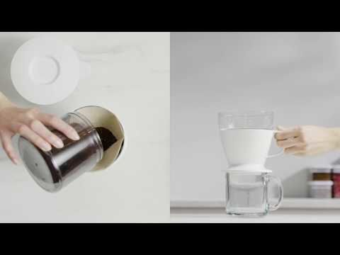 Pour-Over Coffee Maker with Water Tank 9311