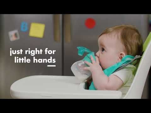 Transitions Soft Spout Sippy Cup with Removable Handles 5492