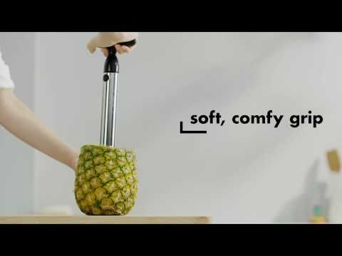 OXO Stainless Steel Ratcheting Pineapple Slicer 5667