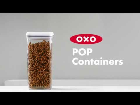 OXO SteeL 5-Piece POP Container Set 5751