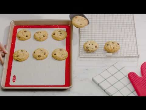 Silicone Baking Mat and Half Sheet Pan Set 6454