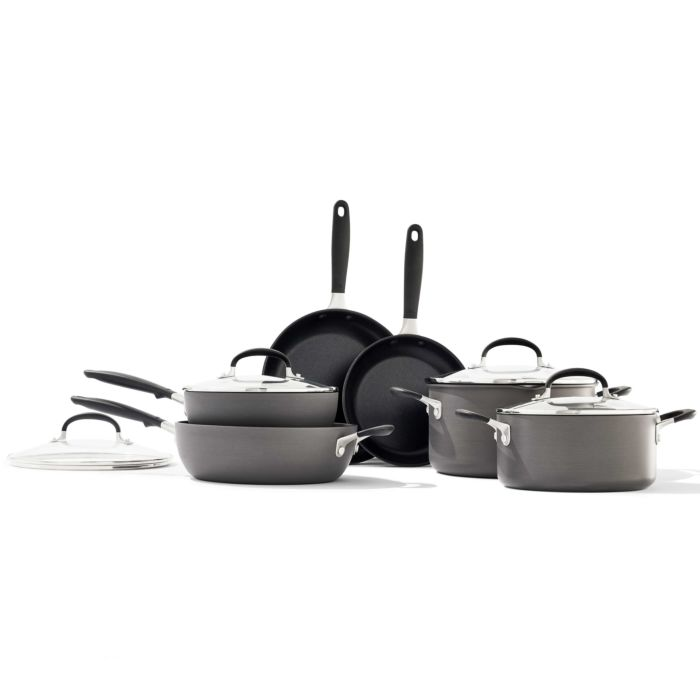 Non-Stick 10 Piece Cookware Pots and Pans Set 176903