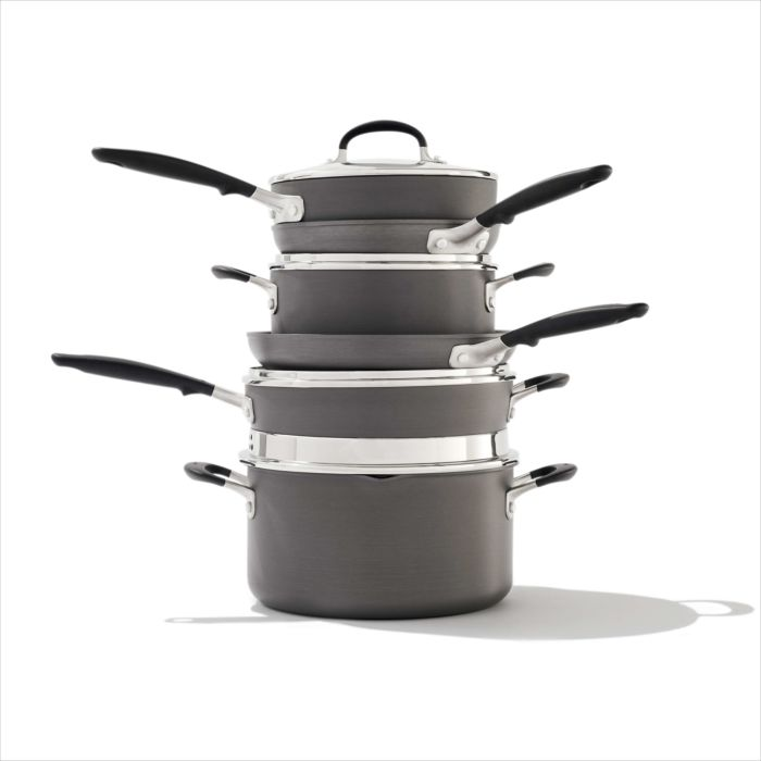 Non-Stick 10 Piece Cookware Pots and Pans Set 176908
