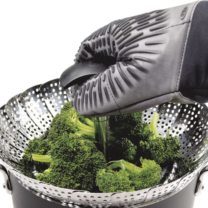 OXO Good Grips Stainless Steel Steamer with Extendable Handle 316
