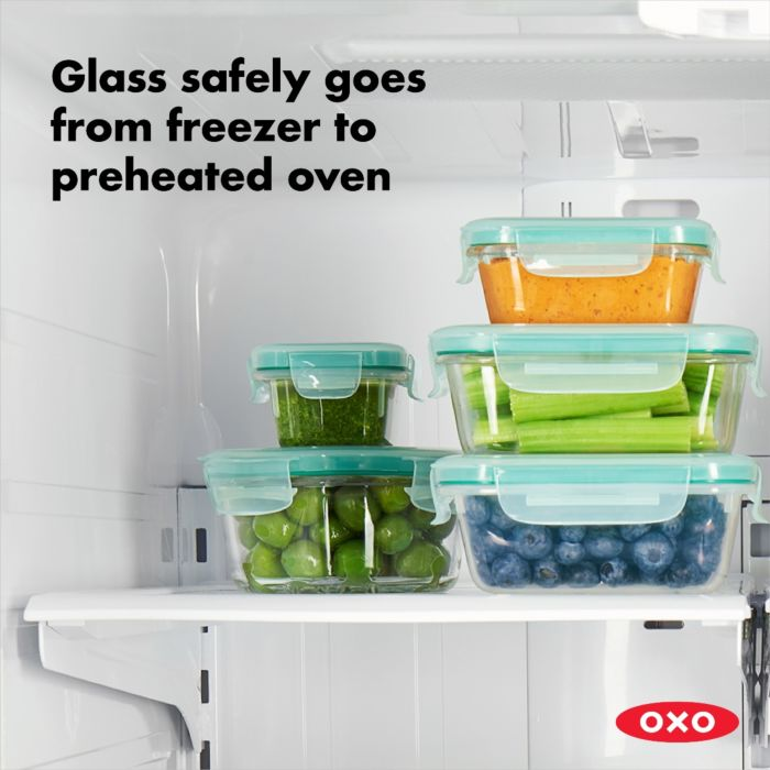 OXO 16 Piece Smart Seal Glass Container Set 176687