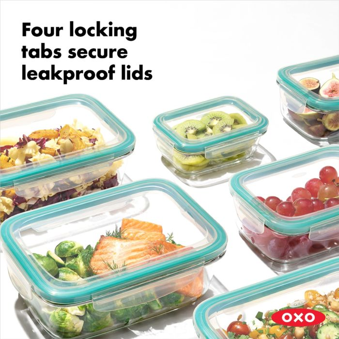 OXO 16 Piece Smart Seal Glass Container Set 176692