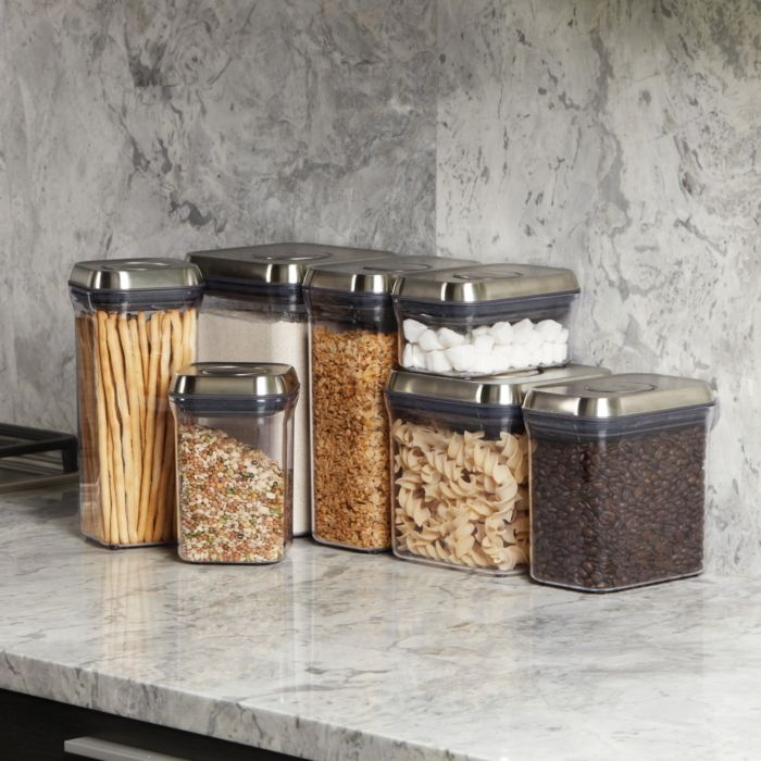 OXO SteeL 5-Piece POP Container Set 5755