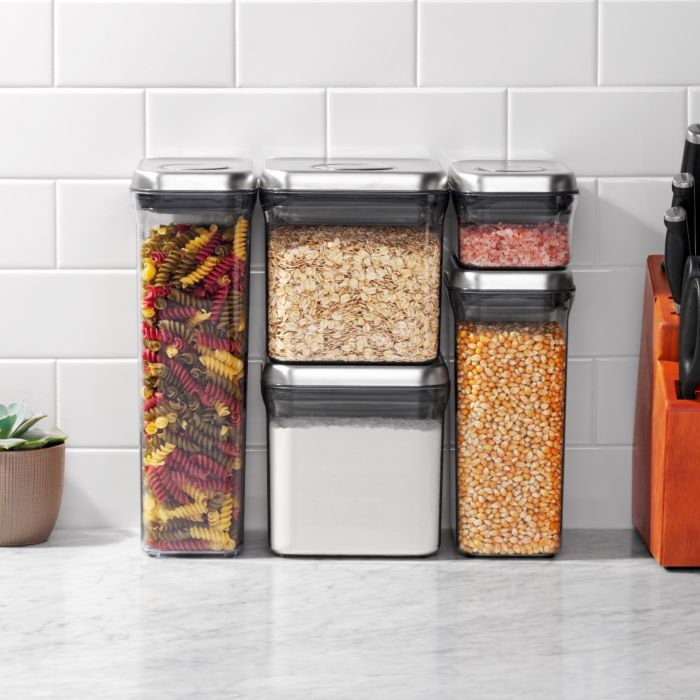 OXO SteeL 5-Piece POP Container Set 5753