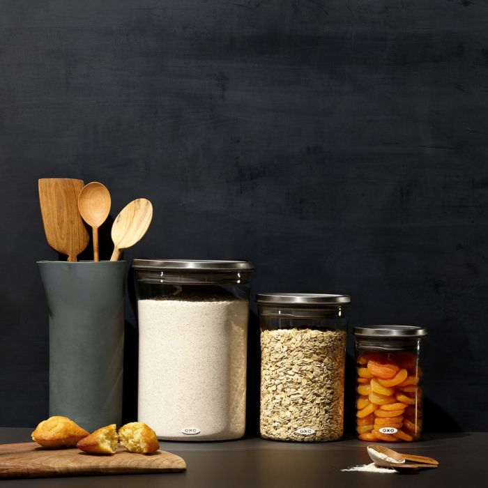 Steel 3-Piece POP Round Canister Graduated Set 177964