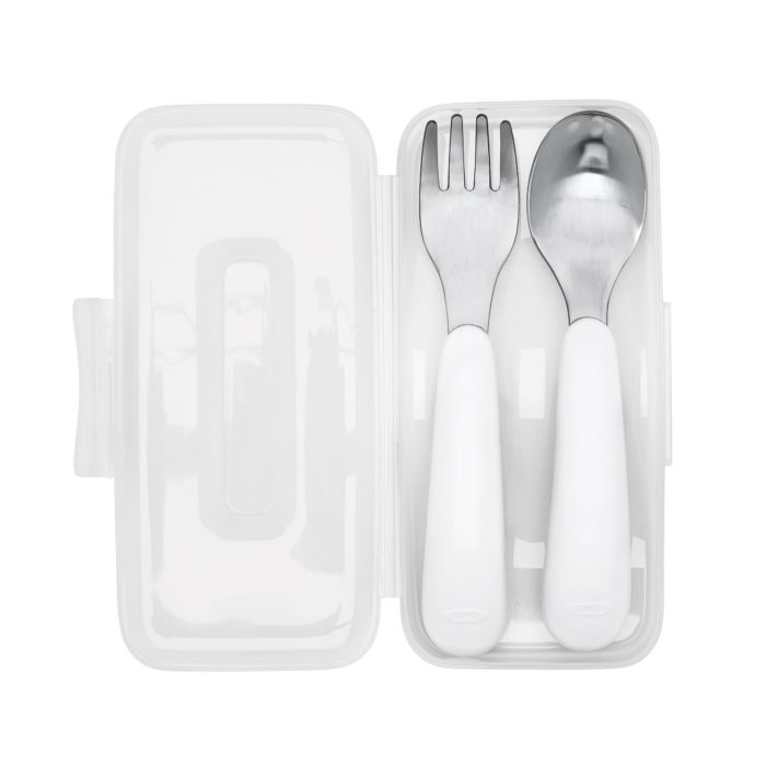 OXO Tot On-the-Go Fork and Spoon Set 7389