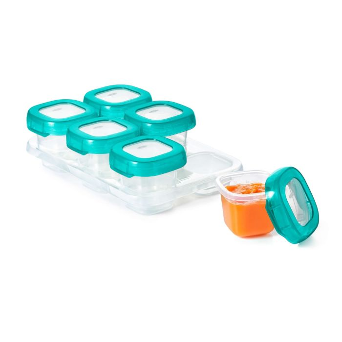 2 oz Baby Blocks™ Plastic Freezer Storage Containers 176358