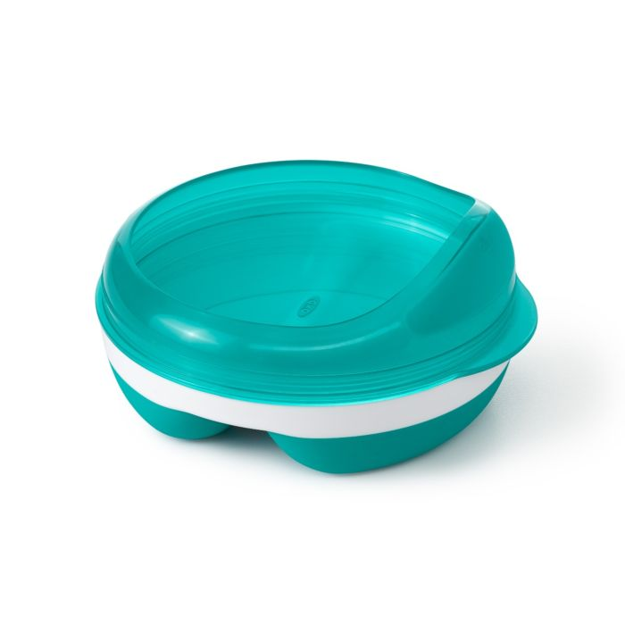 Divided Feeding Dish with Removable Ring 7343