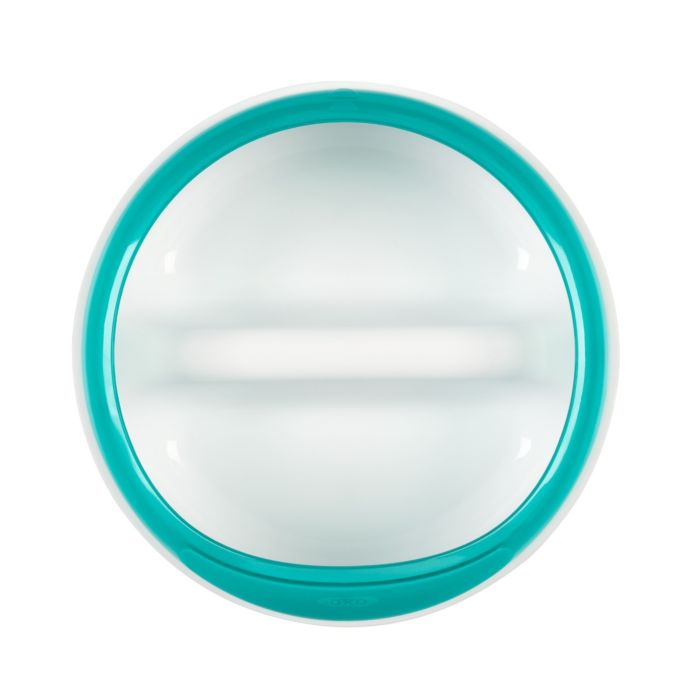 Divided Feeding Dish with Removable Ring 7347