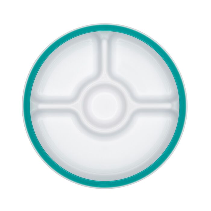 OXO Tot Divided Plate with Removable Ring 7565