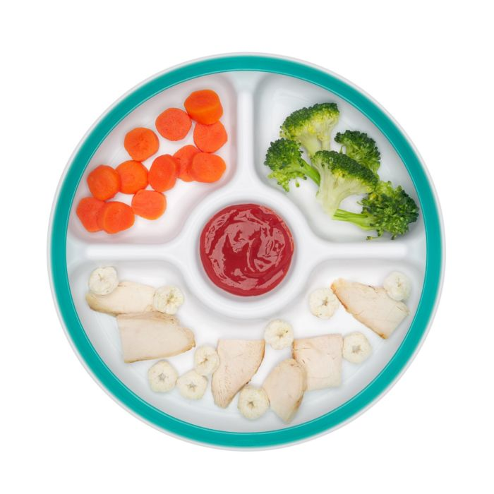 OXO Tot Divided Plate with Removable Ring 7566