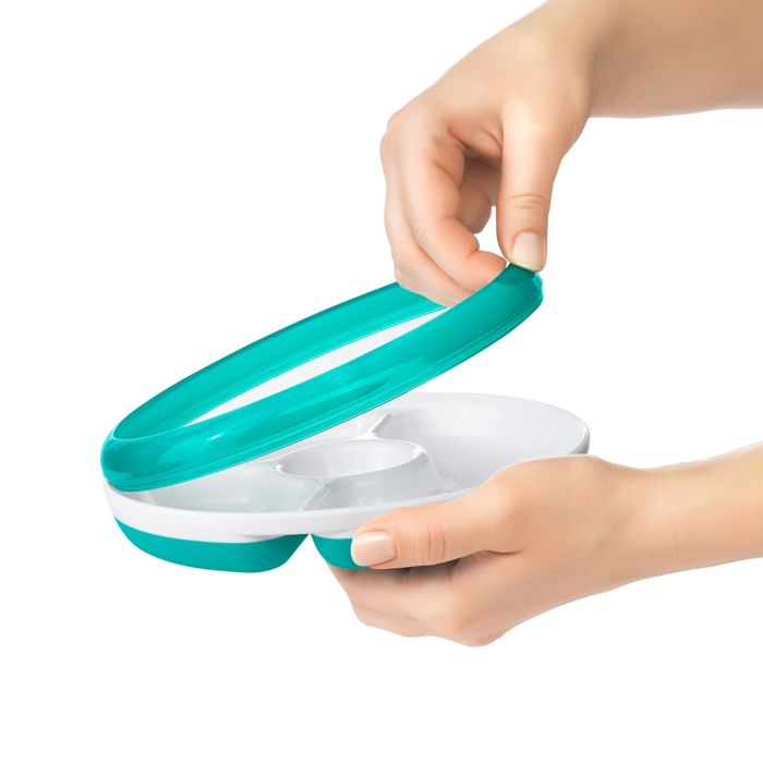 OXO Tot Divided Plate with Removable Ring 7567