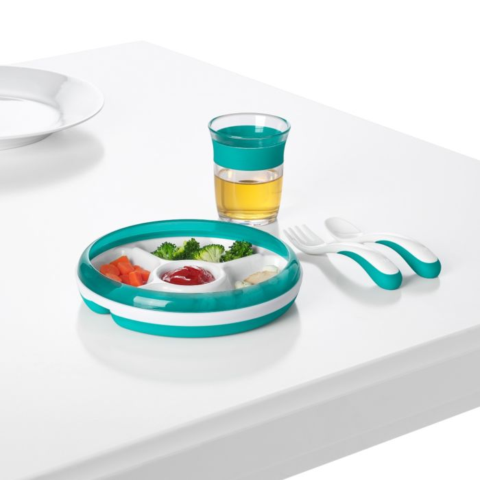 OXO Tot Divided Plate with Removable Ring 7568