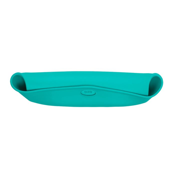 OXO Tot Roll-Up Bib - 2 Pack Teal / Pink 7608