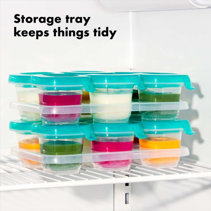 2 oz Baby Blocks™ Silicone Freezer Storage Containers 177155