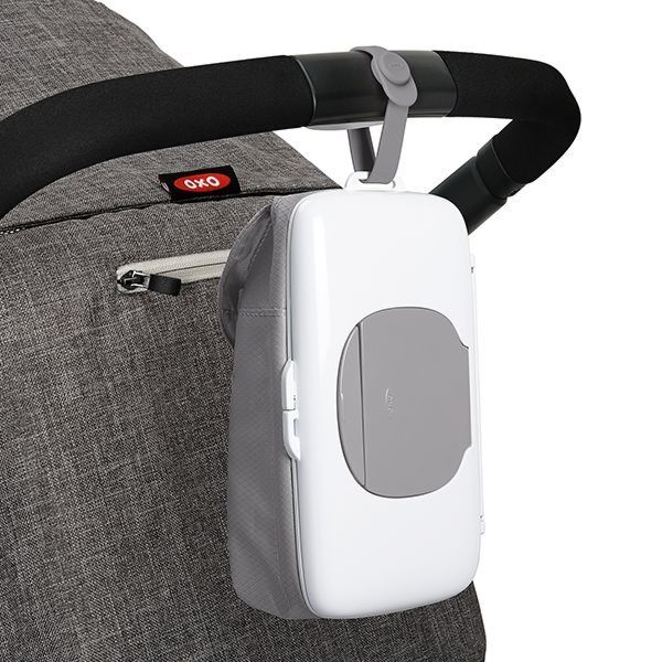 On-the-Go Wipes Dispenser with Diaper Pouch 177198