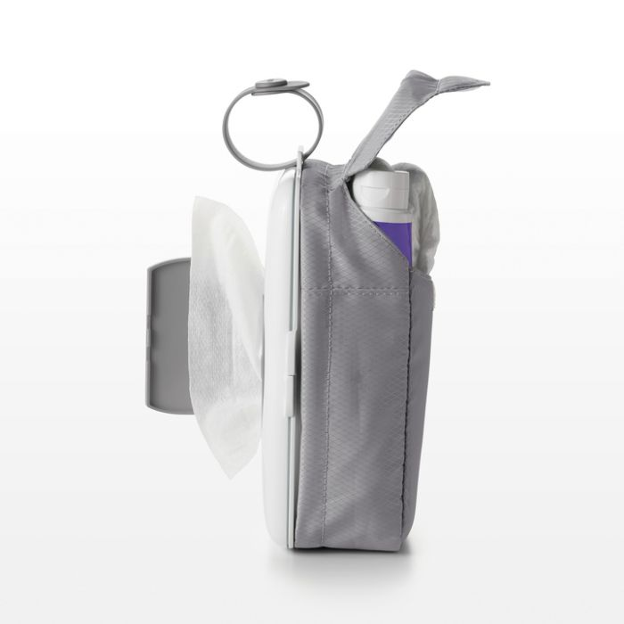 On-the-Go Wipes Dispenser with Diaper Pouch 3637