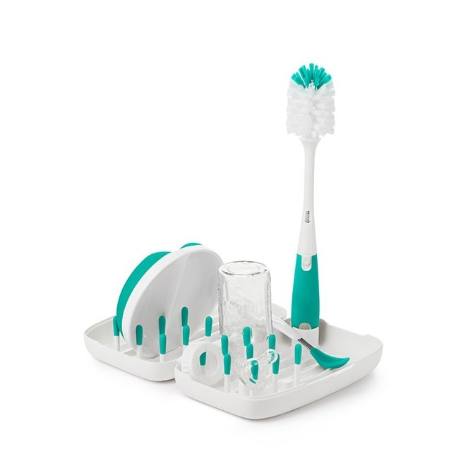 On-The-Go Drying Rack With Bottle Brush 4486