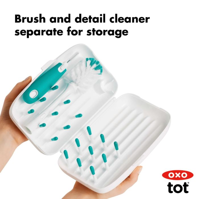 On-The-Go Drying Rack With Bottle Brush 176064