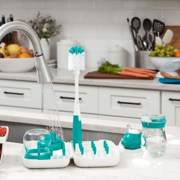 On-The-Go Drying Rack With Bottle Brush 176068