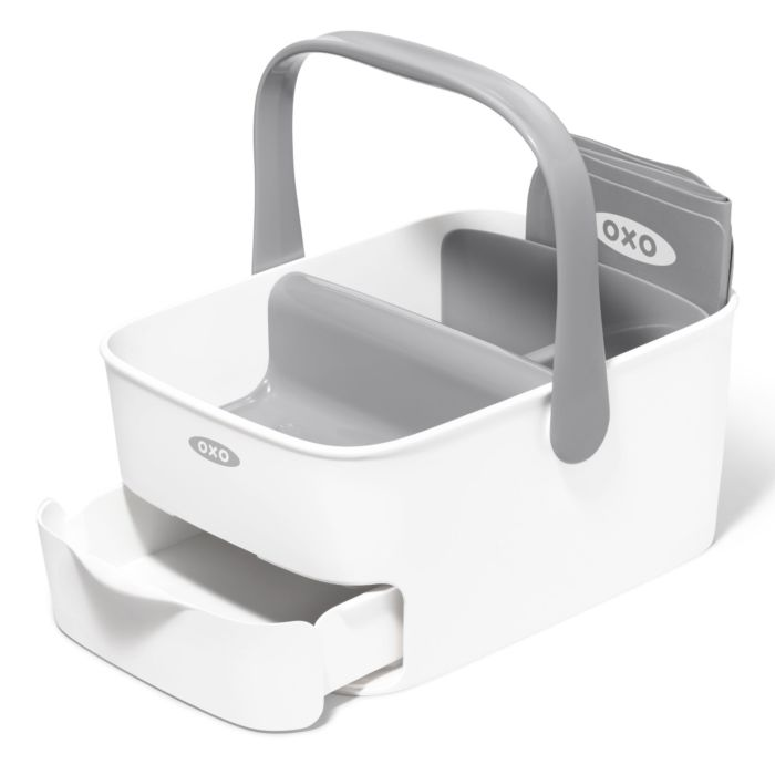 Empty OXO Tot Diaper Caddy with Changing Mat
