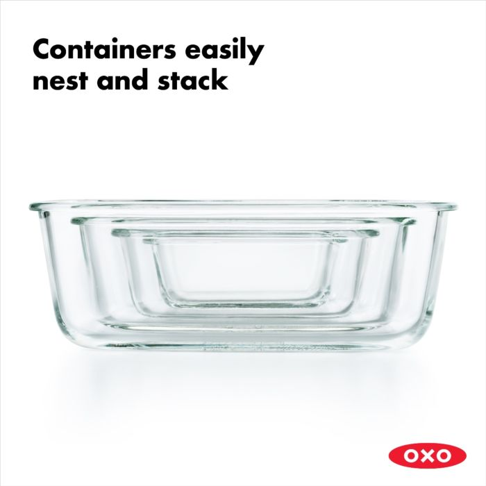 OXO 16 Piece Smart Seal Glass Container Set 176688