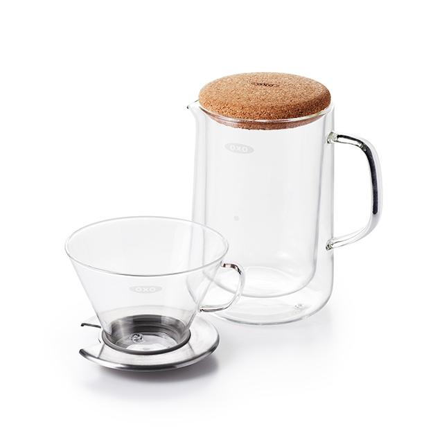 Glass Pour-Over Set