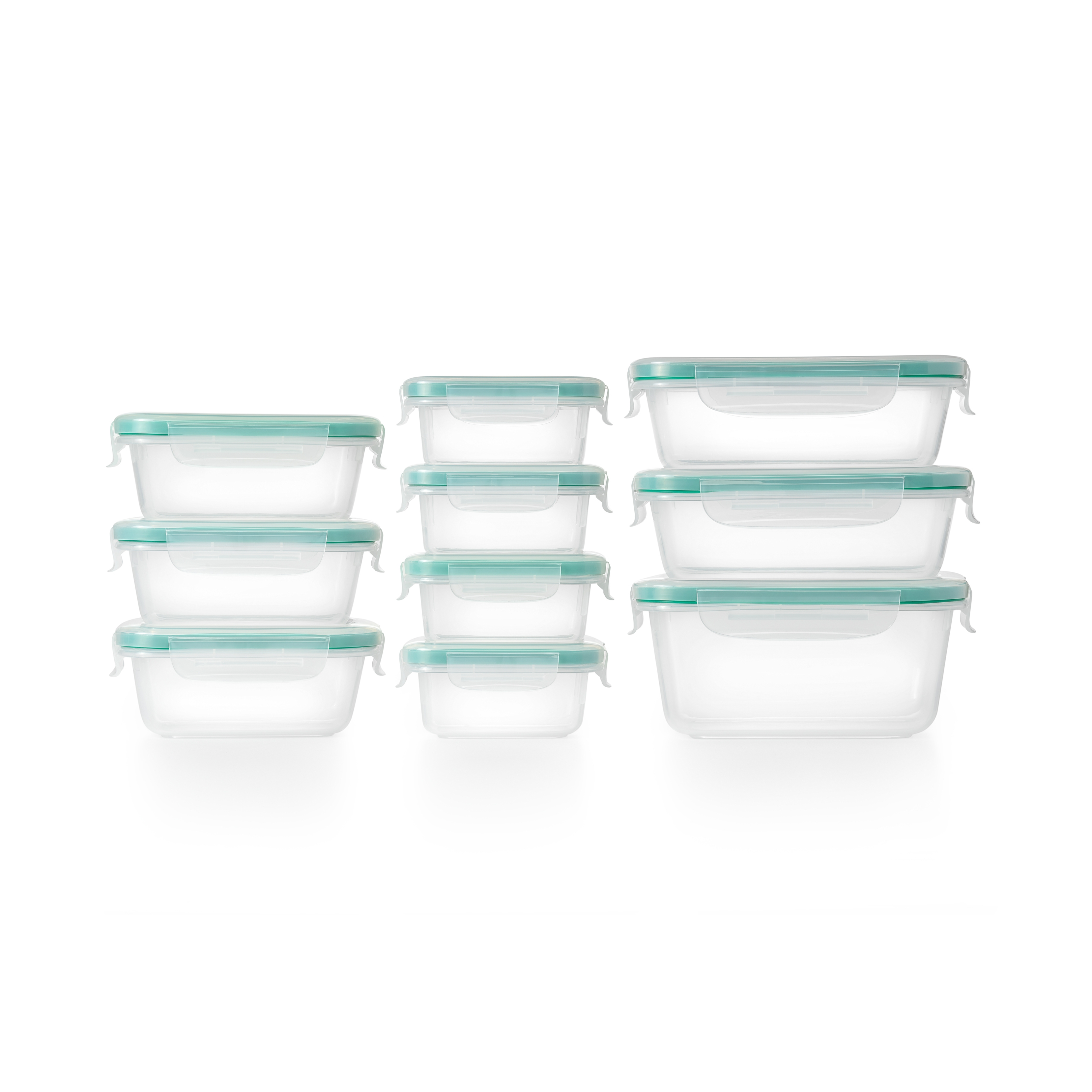 OXO Good Grips Smart Seal 20-Piece Plastic Container Set