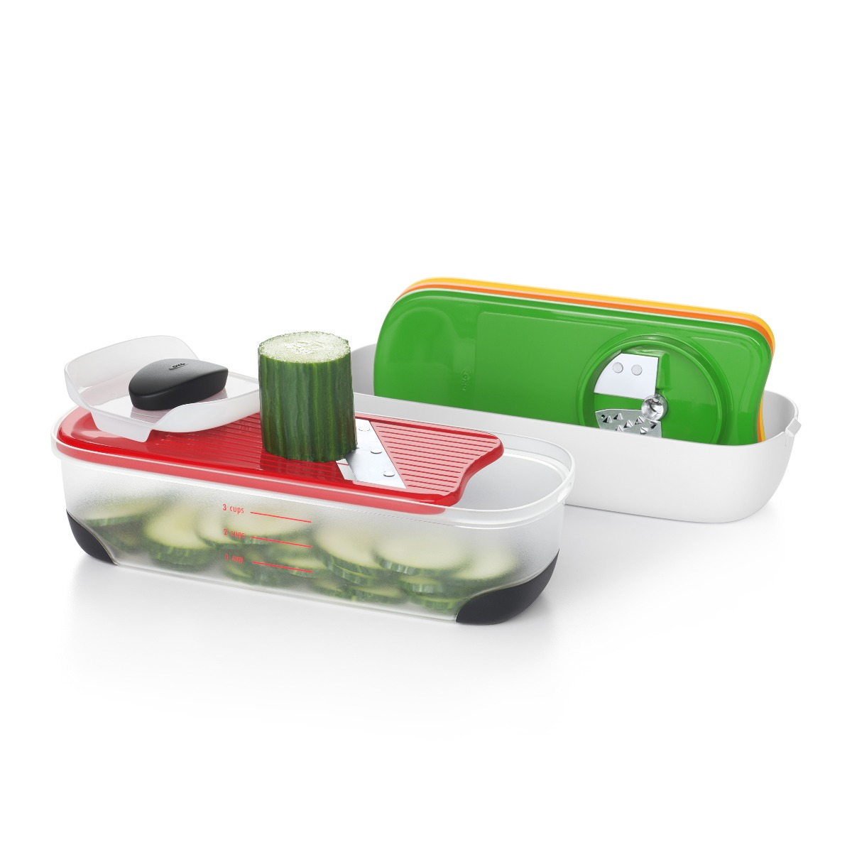 OXO Good Grips Spiralize, Grate & Slice Set