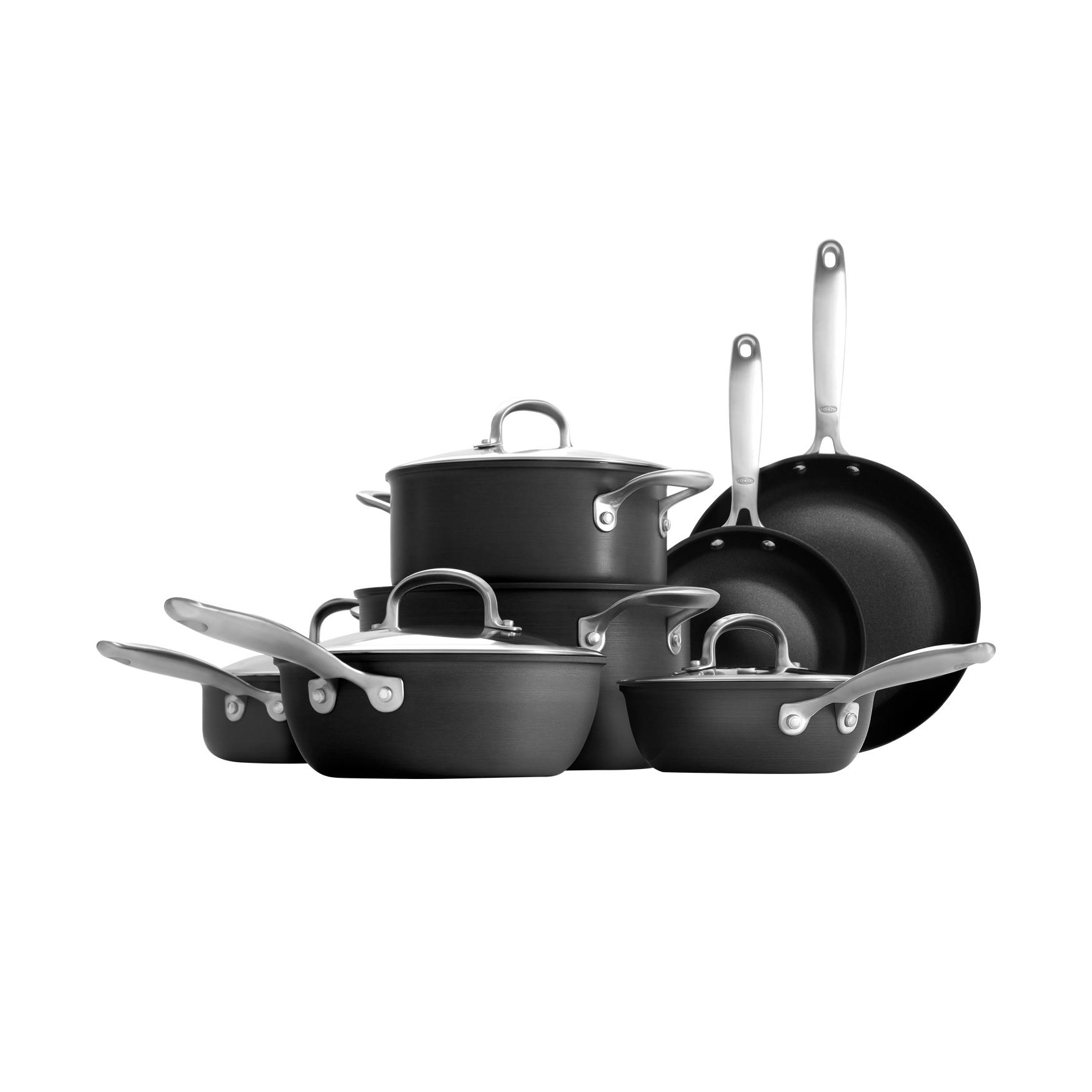 Non-Stick Pro 12-Piece Cookware Set