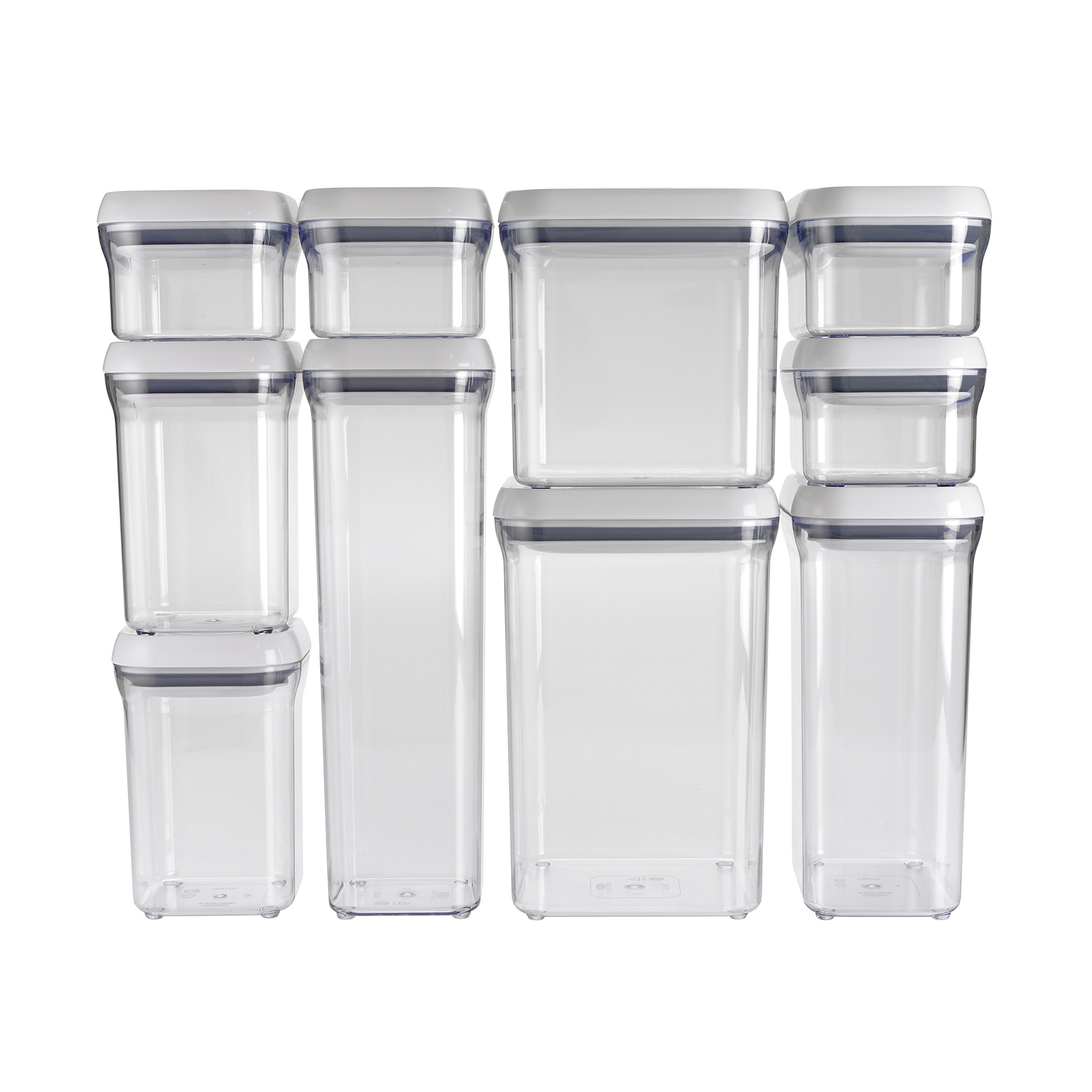 pop storage containers