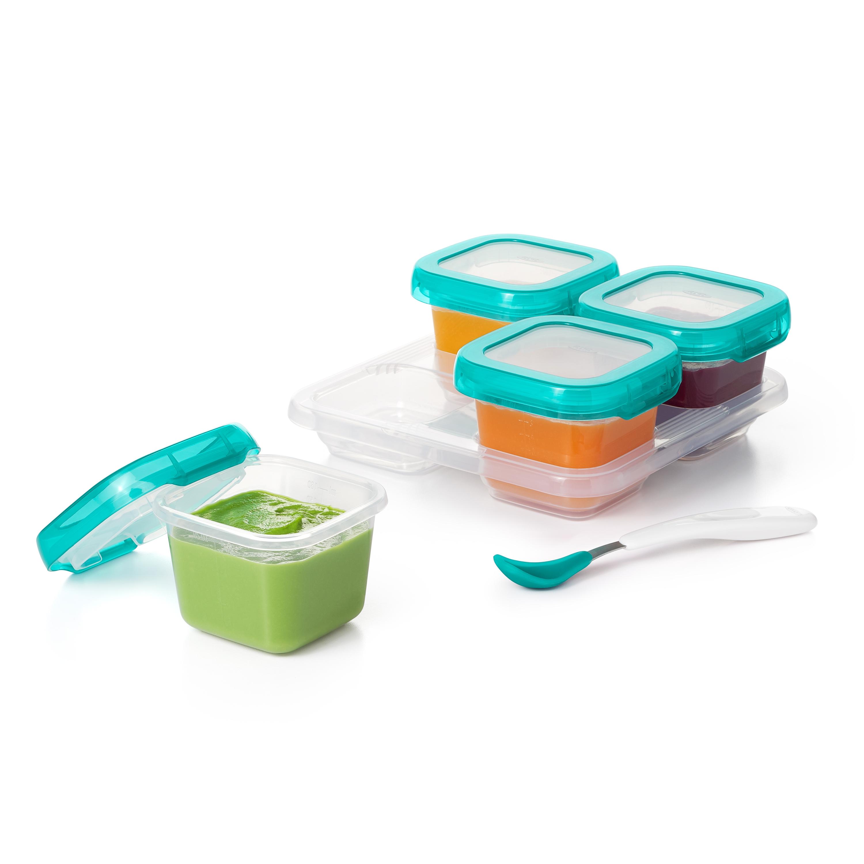 6 oz Baby Blocks™ Plastic Freezer Storage Containers