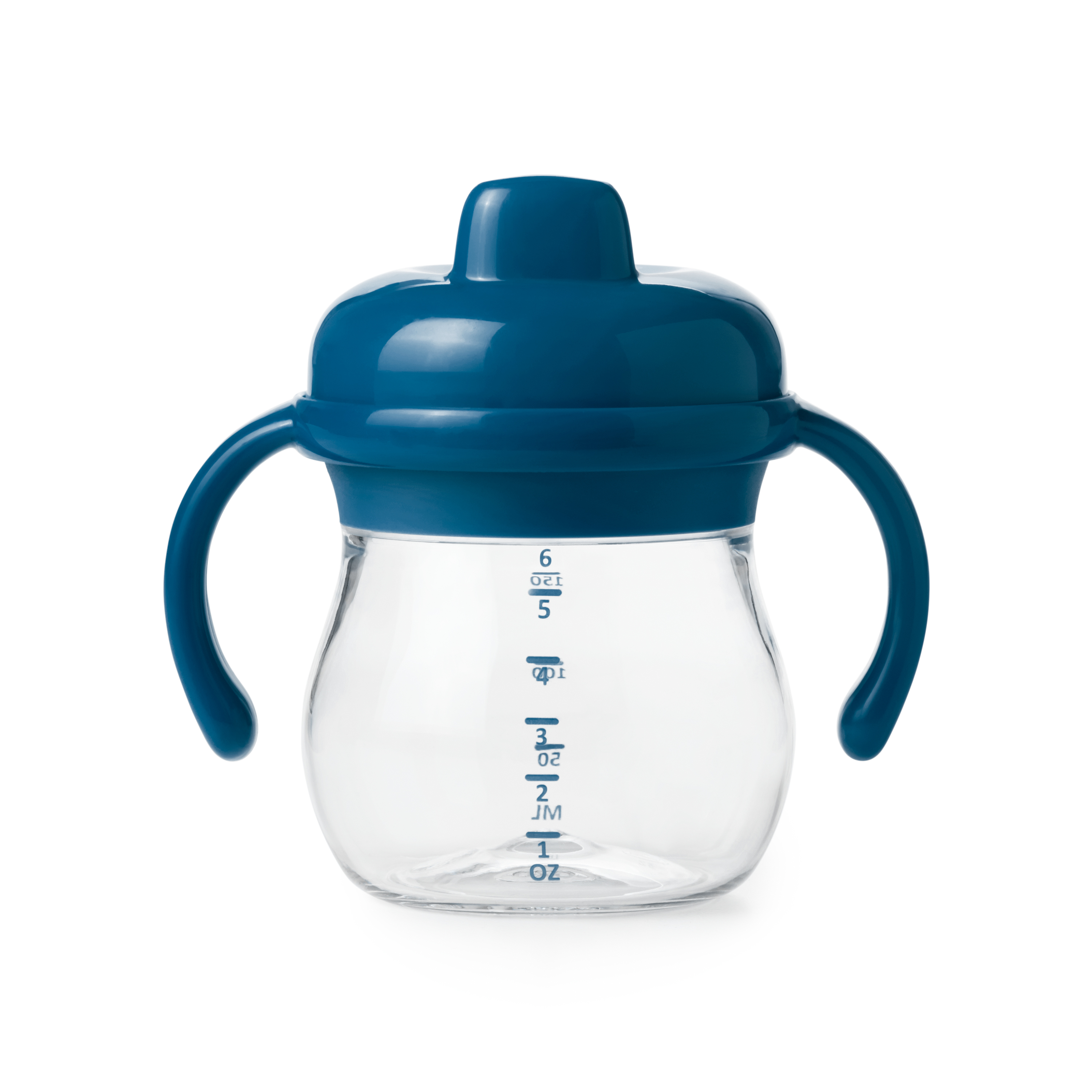 Transitions Sippy Cup with Removable Handles-Tot Navy
