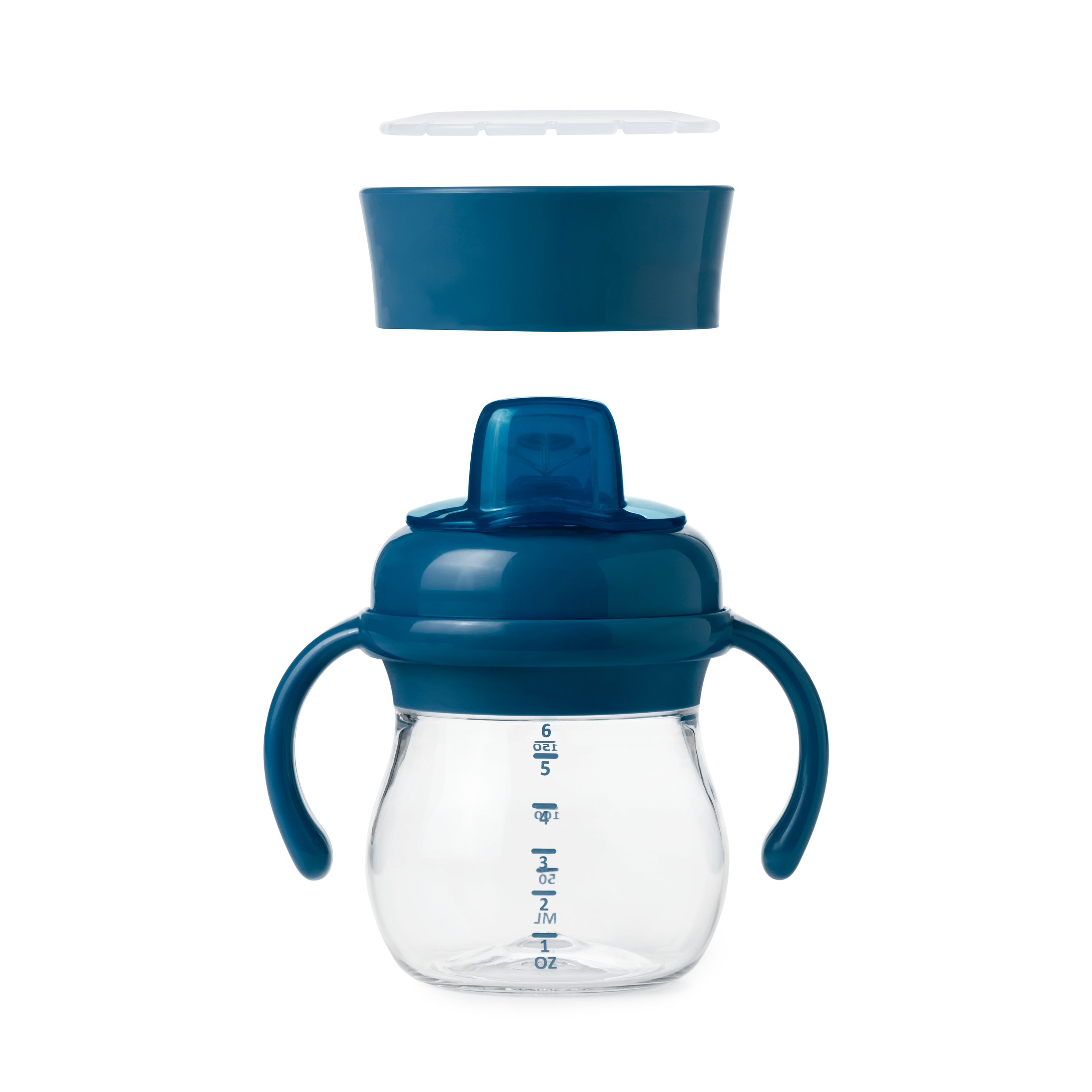 Transitions Soft Spout Sippy Cup Set-Tot Navy