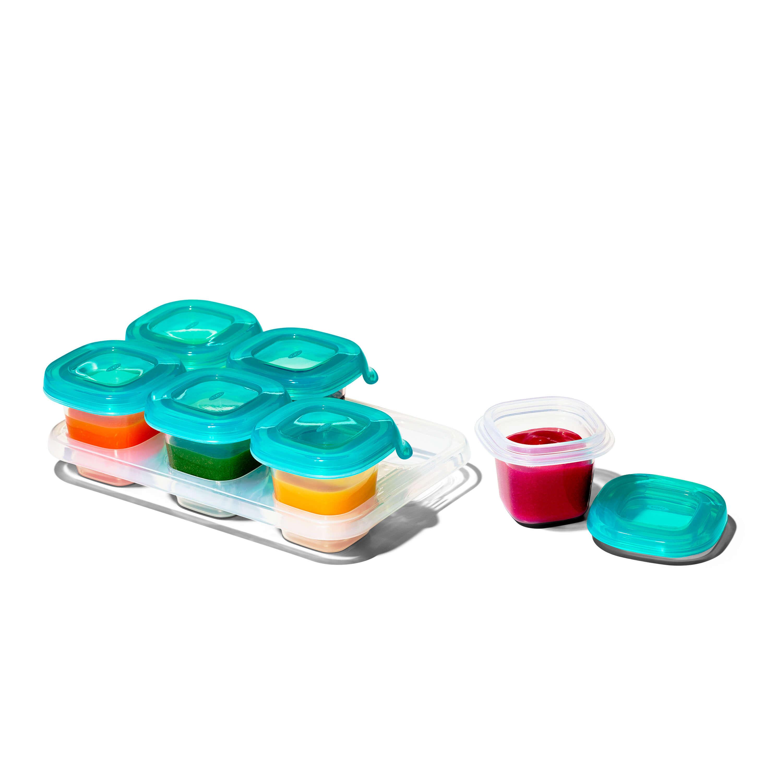 2 oz Baby Blocks™ Silicone Freezer Storage Containers