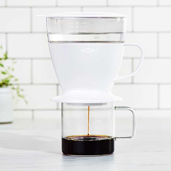 An Innovative, Fuss-Free Way to Brew Pour-Over Coffee
