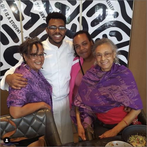 at chefkwameonwuachi on instagram