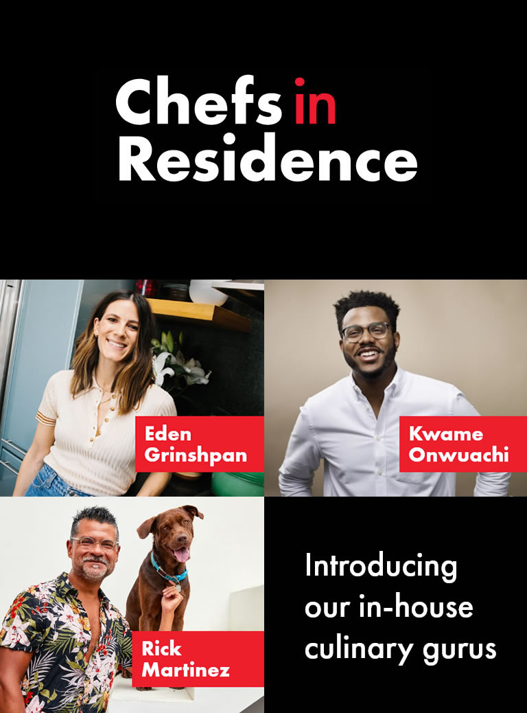 chef in residence hero banner image