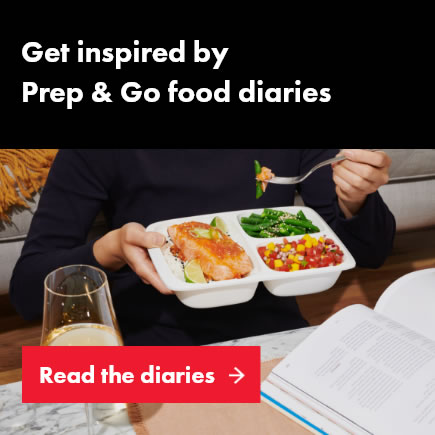 Get inspired by  Prep & Go food diaries image