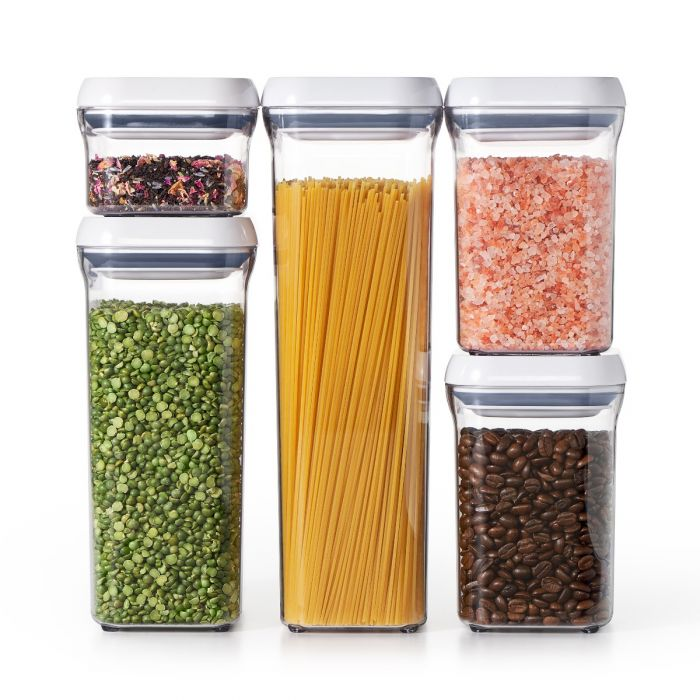 Keeps your dry foods fresh and your home organized